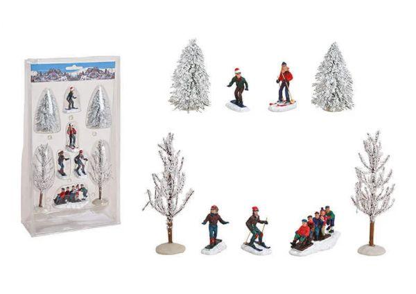 WURM - Weihnachtsfigurenset-Winter Fun