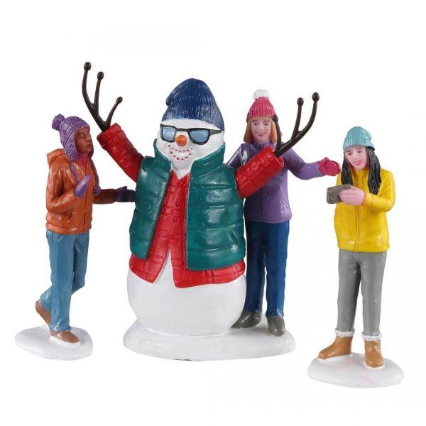 LEMAX - Snowman Selfie