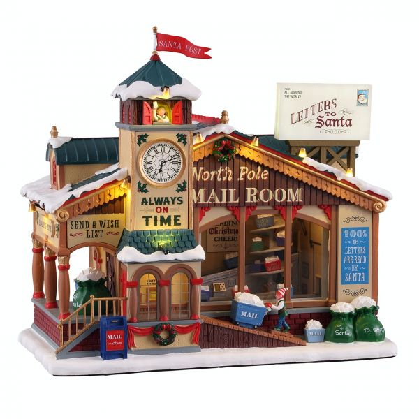 LEMAX - North Pole Mail Room