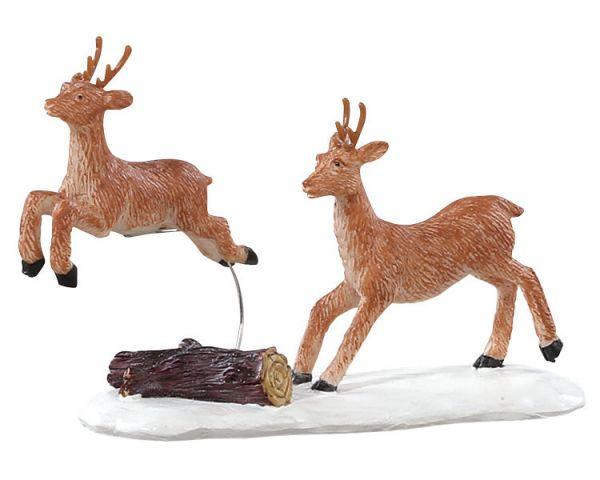 LEMAX - Prancing reindeer