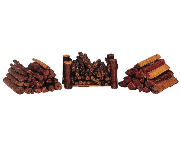 LEMAX - Stacked Firewood, Set/3