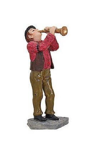 Wurm - Musiker mit Oboe