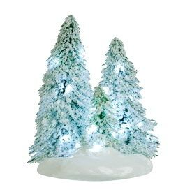 LUVILLE - Lighted Snowy Trees