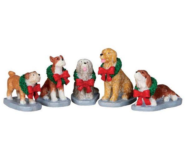 LEMAX - Christmas Pooch, Set/5