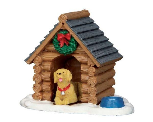 LEMAX - Log Cabin Dog House