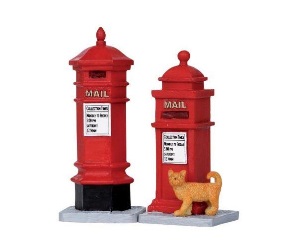 LEMAX - Victorian Mailboxes, Set/2