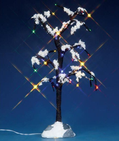 LEMAX - Snowy Dry Tree