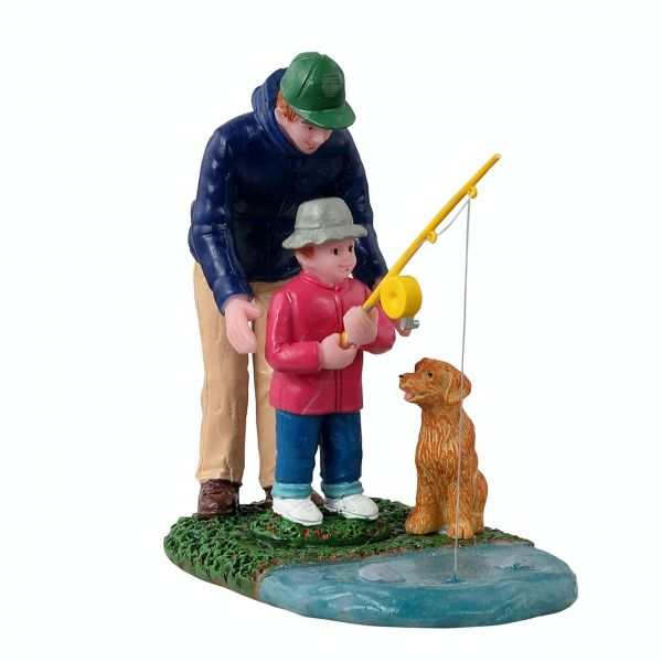 LEMAX - His First Fishing Lesson