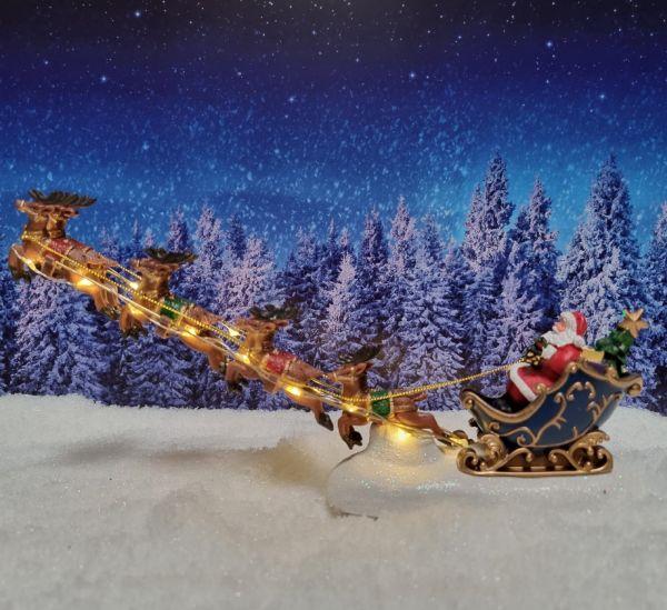 LUVILLE - Santa`s Schlitten
