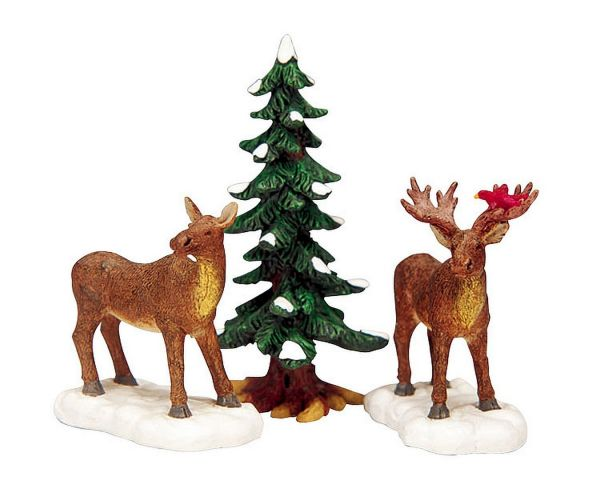 LEMAX - Mr. And Mrs. Moose, Set/3