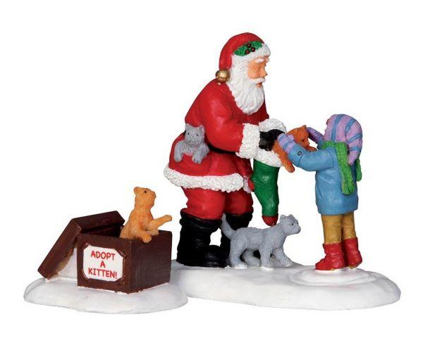 LEMAX - Santa And Kittens
