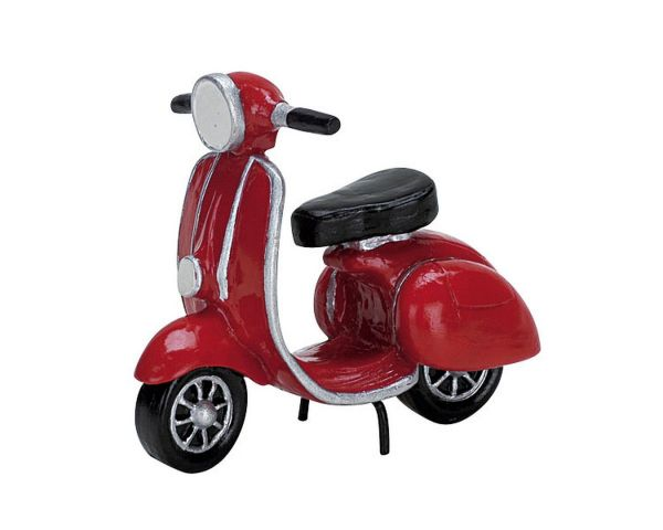 LEMAX - Red Moped