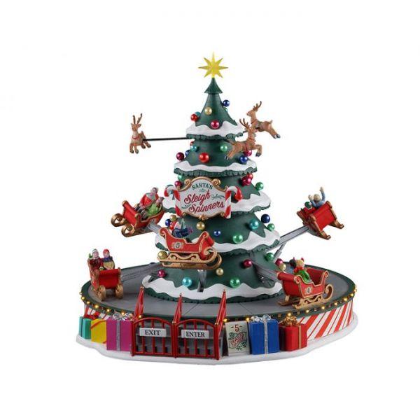 LEMAX - Santa`s Sleigh Spinners