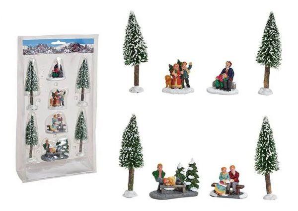 WURM - Weihnachtsfigurenset