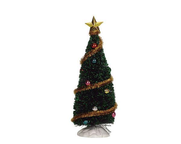 LEMAX - Sparkling Green Christmas Tree M