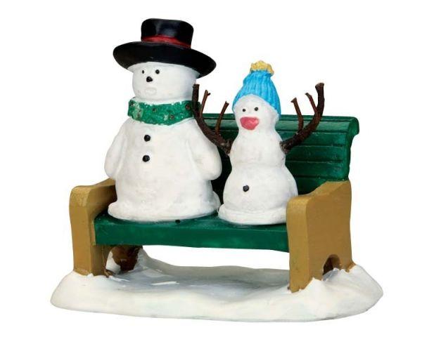 LEMAX - Snowdad & Snowbaby