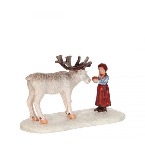 LUVILLE - Girl And Reindeer