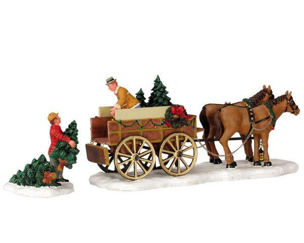 LEMAX - Christmas Tree Wagon