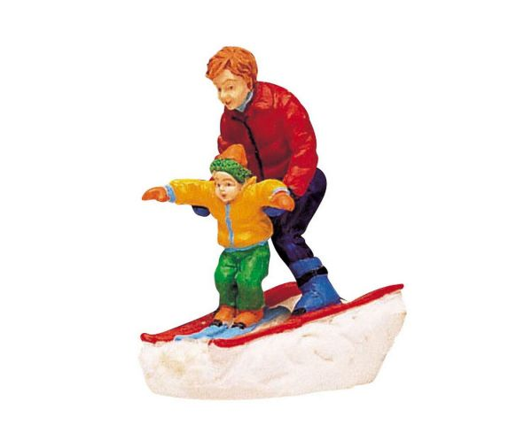 LEMAX - Father And Son Skiing