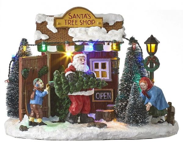 LUVILLE - Santa`s Tree Shop