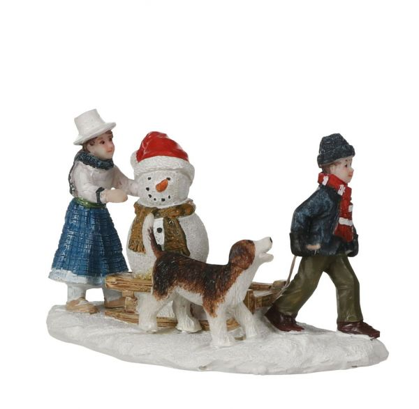 LUVILLE - Snowman Sledge