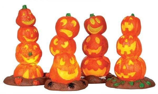 LEMAX - Light Up Pumpkin Stack