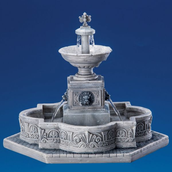 LEMAX - Modular Plaza Fountain