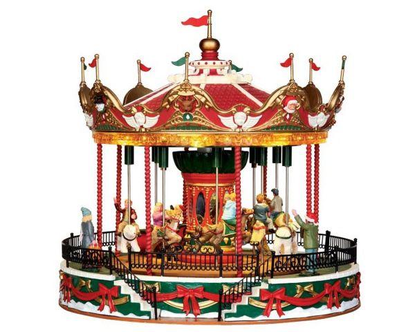 LEMAX - Santa Carousel