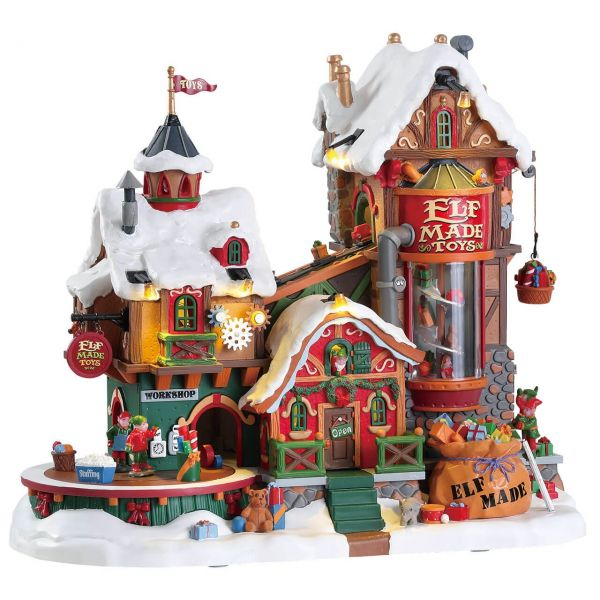 LEMAX - Elf Made Toy Factory